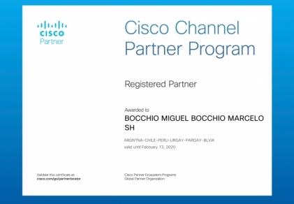 CISCO Registered Parner - Bocchio Comunicaciones